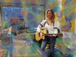 Clementine Volker met haar nieuwe nummer 'lost child'