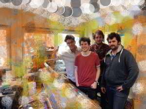 the Fiscus op bezoek in de wereldstad studio