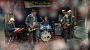 Bos's Bluesband bij programma HoOreNdol van radio Wereldstad