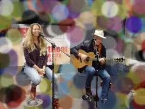 Clementine Volkert en Wyatt Easterling live in Studio Wereldstad