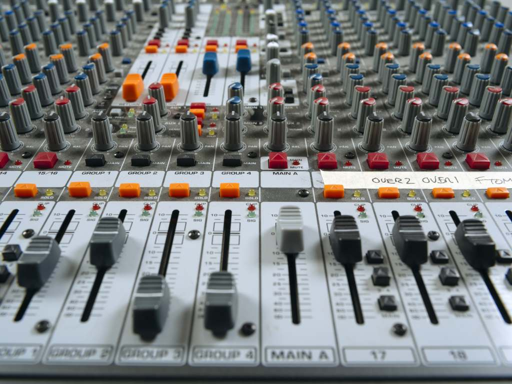 Onze radio studio's